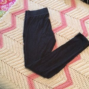 Grey aerie leggings size small